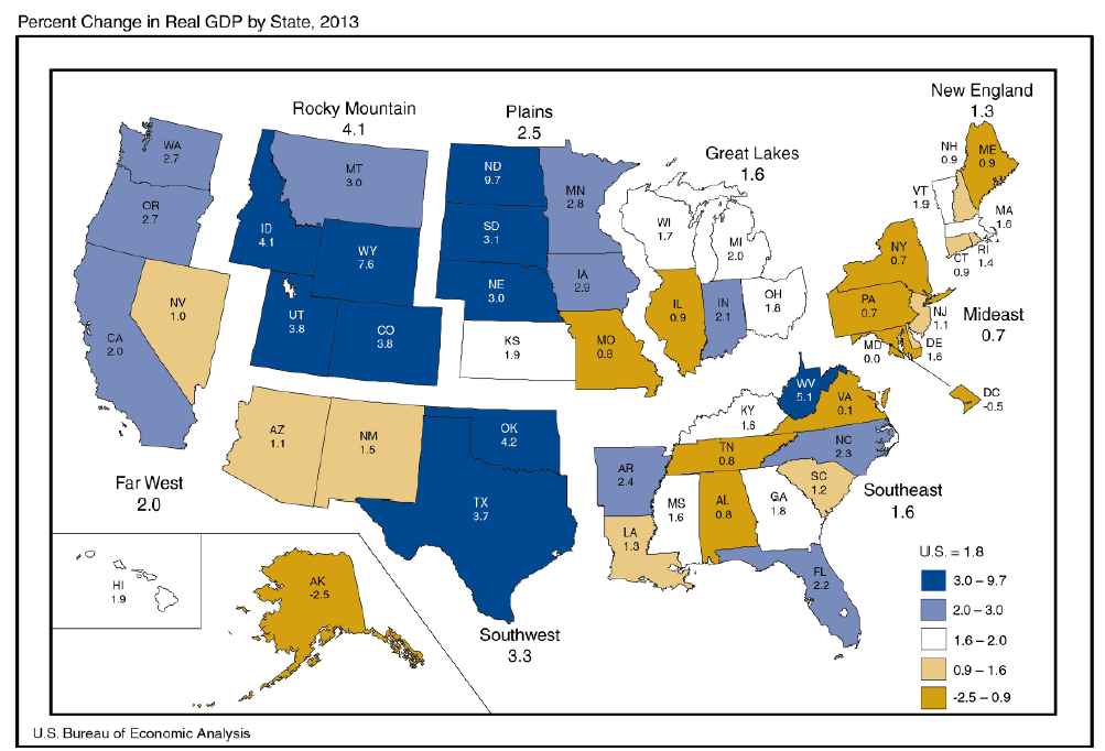 gdp by state in 2013 bing images. Black Bedroom Furniture Sets. Home Design Ideas