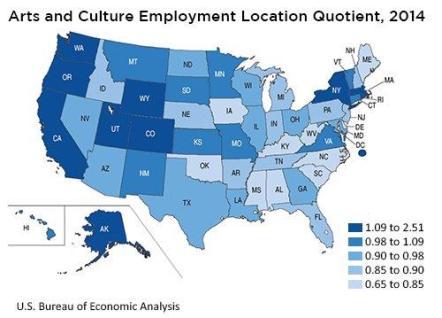 New Data Showcase Economic Impact of Arts and Culture in U ...